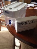 Brita water container and filters