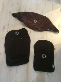 Bugaboo cameleon hood, seat liner and apron