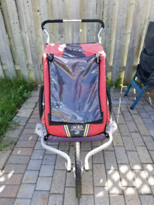 Double Chariot jogging stroller