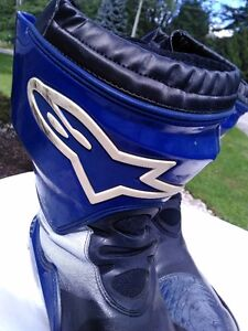 ALPINE STARS MOTORCYCLE RACE/RIDING BOOTS WITH INNER BOOT 45 Windsor Region Ontario image 4