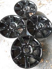 "17"" black BMW 3 series E36/E46, style 44 alloy wheels (319)"