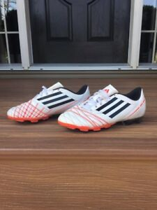 Boys or girls adidas soccer cleats