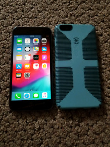 iPhone 6S plus +32gb unlock like new with case