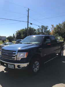 2013 FORD F150 SUPERCREW LARIAT 4X4 !! ECO-BOOST !! LEATHER !!