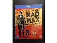 MAD MAX Blu-ray DVD ( 3 x discs)