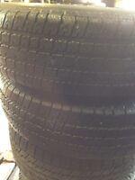 2 trailer tires 205/75/14 all season good condition