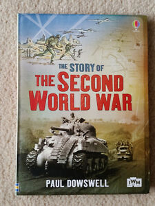 """Usborne """"The Story of the Second World War"""" for sale BRAND NEW"""