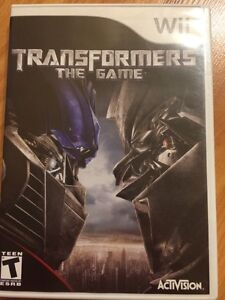 Wii Transformers - The Game