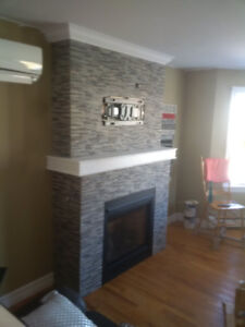 Custom installed fireplaces