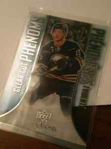Hockey card - clear cut phenoms - jack eichel -
