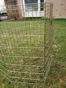 Dog - animal cage, foldable outdoor metal pen