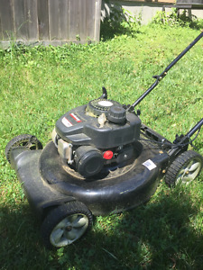 ONE YEAR OLD LAWNMOWER