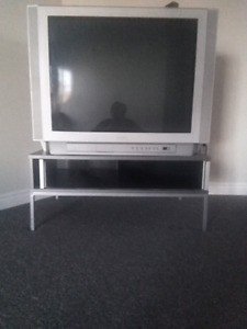 Tv and stand 130