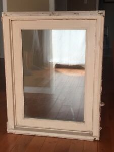 Heavy duty solid wood casement window with brickmould