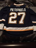 Signed Alex Pietrangelo Jersey