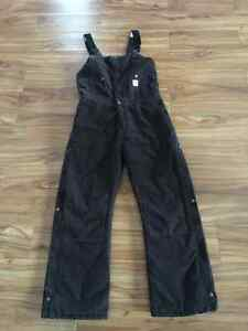 Womans Carhartt Bib Lined Overall