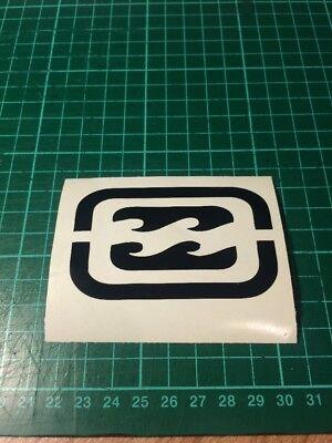 BILLABONG Logo  car Van Window Sticker X1