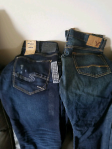Mens Jean's and shorts all for 100 dollars .