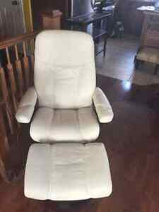 Norwegian Leather Recliner