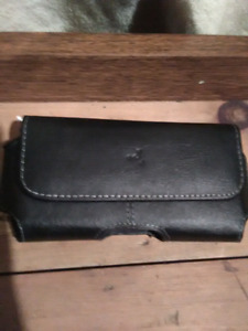Fuse leather cell phone belt holster