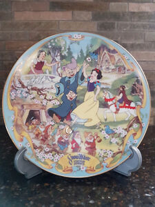 "Disney Musical Memories ""THE FAIREST ONE OF ALL"" collector plate"