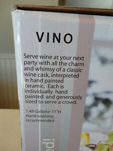 Brand New Ceramic Vino Wine or Beverage Dispenser Kitchener / Waterloo Kitchener Area image 4