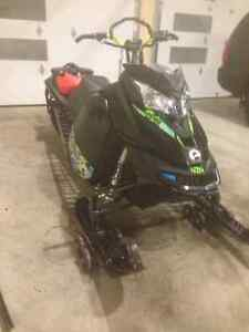 "2014 Skidoo Summit 800 154"" SP Etec T-motion Regina Regina Area image 5"