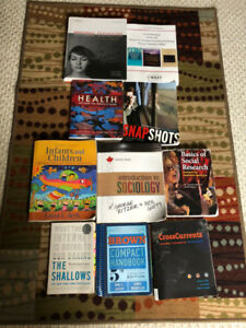 Waterloo University Textbooks Assorted