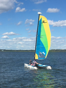 2013 Hobie Sailboat w Trailer