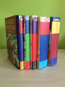 Harry Potter 5 Book Box Set Bloomsbury Raincoast