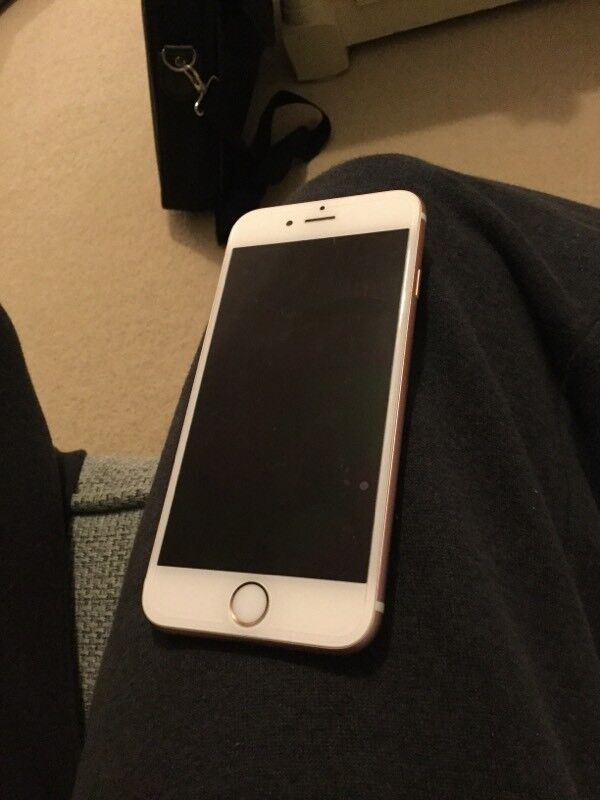 iPhone 6s 16gb rose gold mint condition