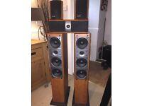 PIONEER SURROUND SOUND SPEAKERS + SURROUND POWERFULL & RARE HOME CINEMA/THEATRE
