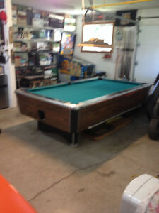 Table de billard - Pool 4' x 8'