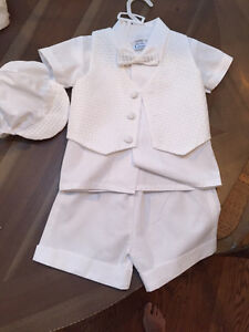 Boy baptism or christening outfit