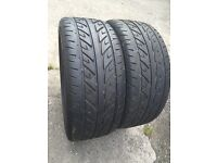 2x Arrowspeed car tyres (225-45-17)