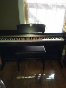 Yamaha clavinova full size piano for sale