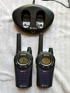 Cobra brand Walkie Talkies with charger