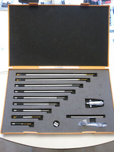 Mitutoyo inside micrometer set. Excellent condition.