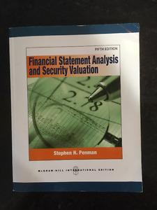 Financial Statement Analysis - Stephen H Penman