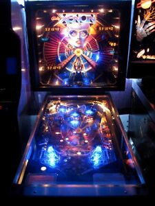 wanted looking for a xenon pinball machine