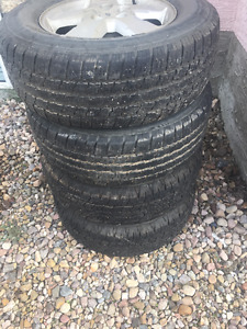 4 x 2008 Ford Escape Rims with 235/70r16 tires