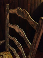 Beautiful Rustic Restored Hardwood Dining Chairs