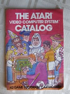 The Atari Video Computer System Catalog