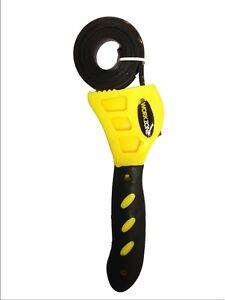 Multi-Purpose Adjustable Rubber Strap Wrench Grip / Tighten Bottle Jar Opener