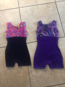 Girls Mondor Gymnastics outfits - Size 8/10 & 12/14
