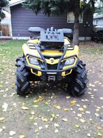 selling my 2011 can am outlander 800
