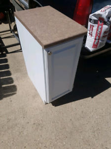 Pending pickup Lower cabinet with countertop