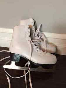 Girl's Ice Figure Skates - Size 1