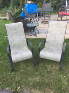 2 Patio Lawn Chairs