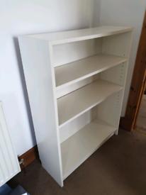 AWAITING COLLECTION IKEA white shelves